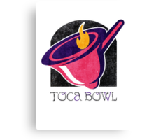 Toca Bowl Canvas Print