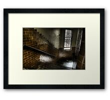 Glazed brick Framed Print