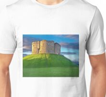 Clifford's Tower, York, England Unisex T-Shirt