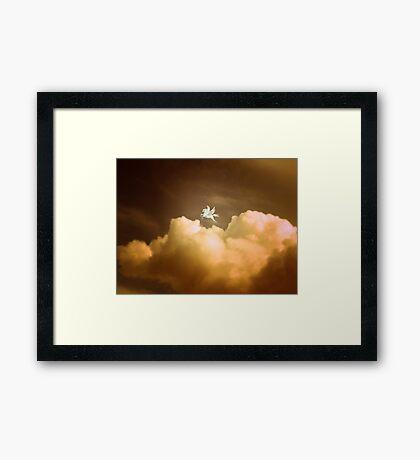 Pegasus ~ Dusk Framed Print