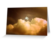 Pegasus ~ Dusk Greeting Card