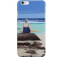"""Reminisence"" Textile art quilt iPhone Case/Skin"