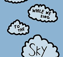Sing to the sky #1  by featherarrow