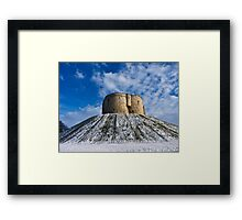 Clifford's Tower, York, in Winter Framed Print