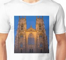 York Minster, England, at sunset Unisex T-Shirt