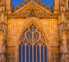 York Minster, England, at sunset Sticker