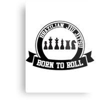 born to roll Metal Print