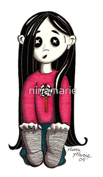 Little Zombie by ninamarie