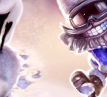 Olaf & Ziggs  Sticker