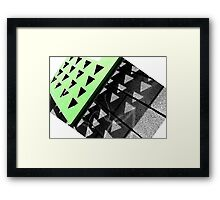 The Wall Has it. Framed Print