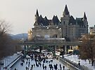 Skaters on the Ottawa Canal by Max Buchheit