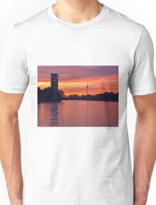 Sunset in Berlin, Germany Unisex T-Shirt