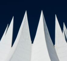 White volcano Sticker