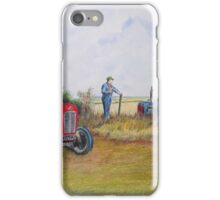 Arrs it Garn iPhone Case/Skin