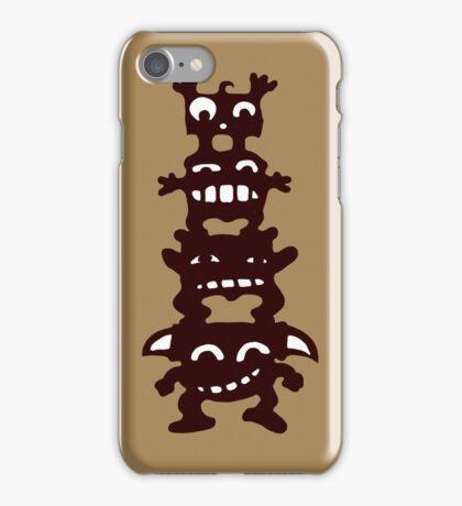 totem cartoon iPhone Case/Skin