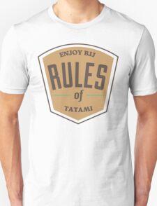 Rules of tatami T-Shirt