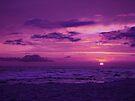 Purple Sky by Sandy Keeton