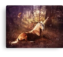 Ancients Series: The Unicorn Canvas Print