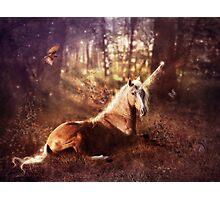 Ancients Series: The Unicorn Photographic Print