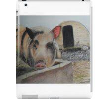 Greedy Pig iPad Case/Skin