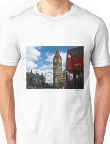 London: London eye, big ben and a red bus T-Shirt