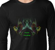 Fractal Knowledge Long Sleeve T-Shirt