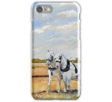 Hayton Ploughing Match iPhone Case/Skin