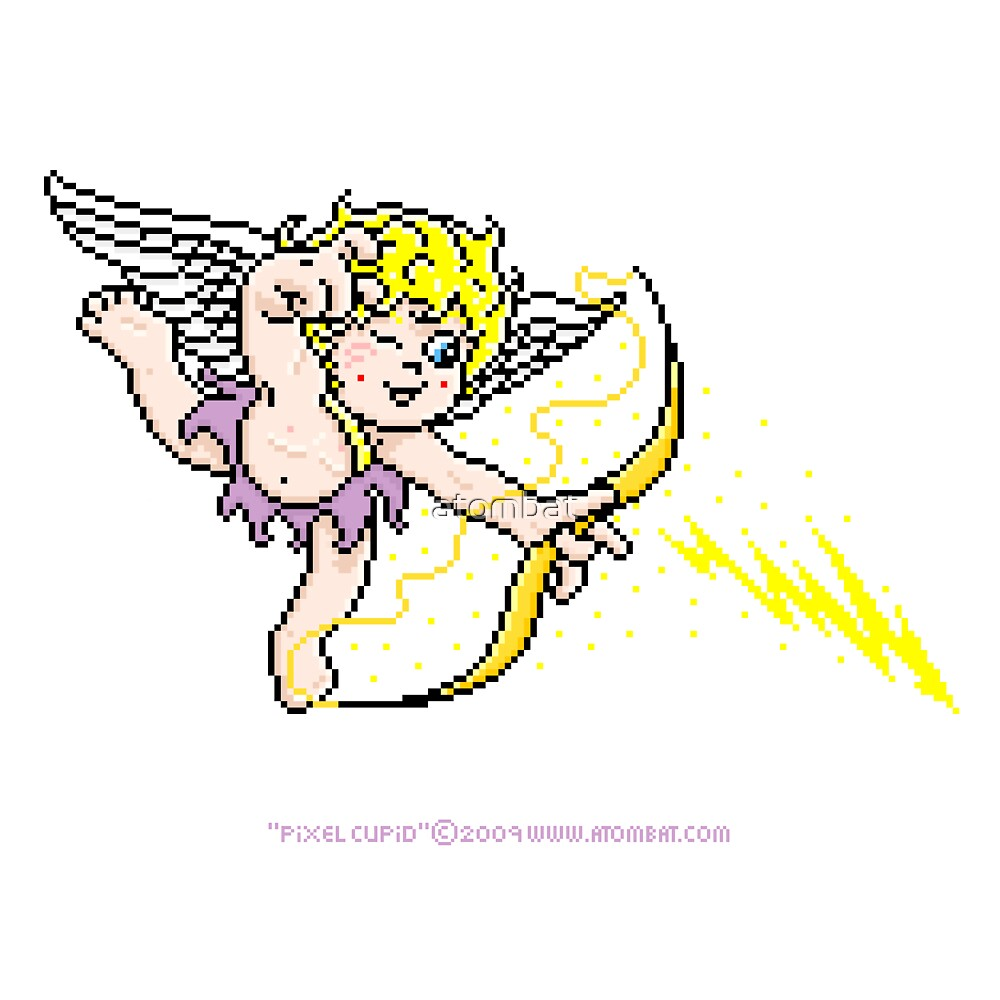 Pixel Cupid 1 by atombat