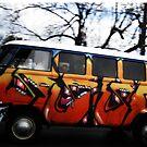 Graffiti Bus by Sarah Stallings
