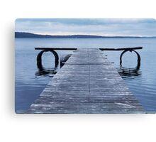 Denmark Pier Canvas Print