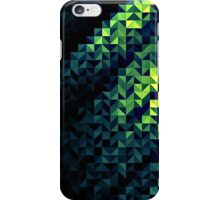 Green Geometric Abstract iPhone Case/Skin
