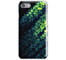 Green Geometric Abstract iPhone Case/Skin