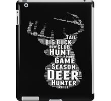 Hunting Custom Tshirts iPad Case/Skin