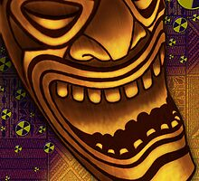 Laughing Tiki by Mike Cressy