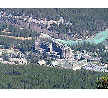 Banff Springs Hotel Photographic Print