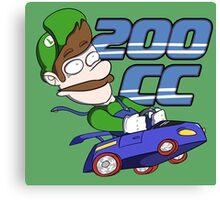Mario Kart: 200 CC Forever Canvas Print