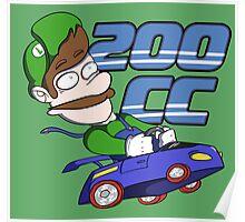 Mario Kart: 200 CC Forever Poster