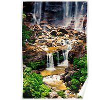 Wentworth Falls, NSW. Poster