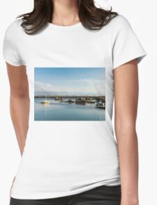 Boats and Wrecks (Île de Noirmoutiers -  Vendée, France) bis Womens Fitted T-Shirt