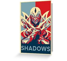 Zed - League of Legends - Master of Shadows Greeting Card