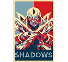 Zed - League of Legends - Master of Shadows Photographic Print