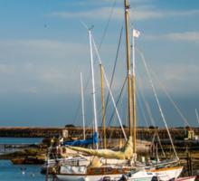 Boats (Île de Noirmoutiers - Vendée, France) Sticker