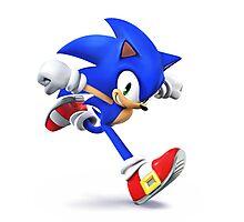 Sonic - Super Smash Bros Photographic Print