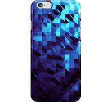 Modern Blue Geometric Abstract iPhone Case/Skin