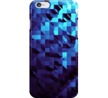 Modern Blue Geometric Abstract iPhone Case/Skin