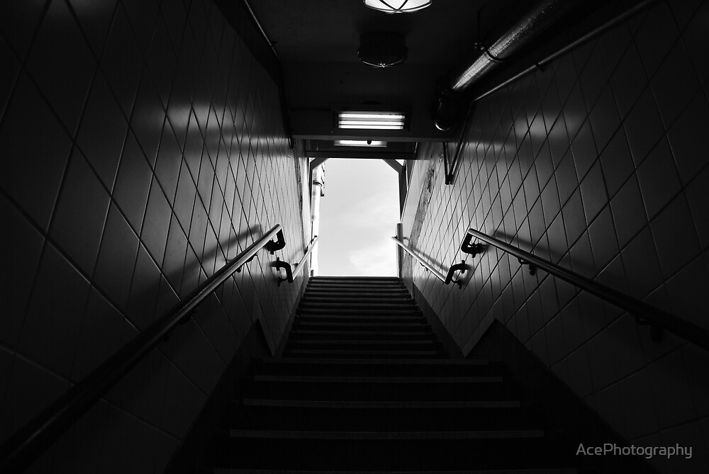 Going Up... or Down? by AcePhotography