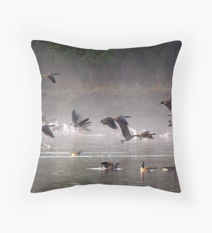 Mystical Morning Throw Pillow