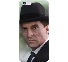 The Bohemian Holmes - Jeremy Brett iPhone Case/Skin
