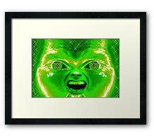 """""""Alien"""" Framed Print"""