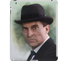 The Bohemian Holmes - Jeremy Brett iPad Case/Skin